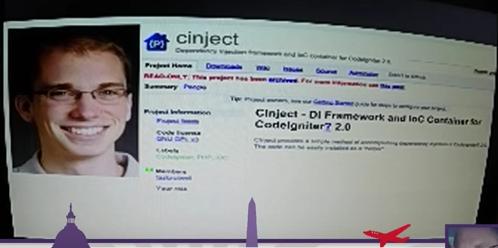 """""""Ảnh chụp màn hình của dự án CInject trên Google Code"""""""